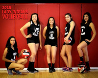Cobre Indian Volleyball