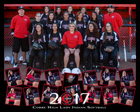 CHS Softball 2017 Team
